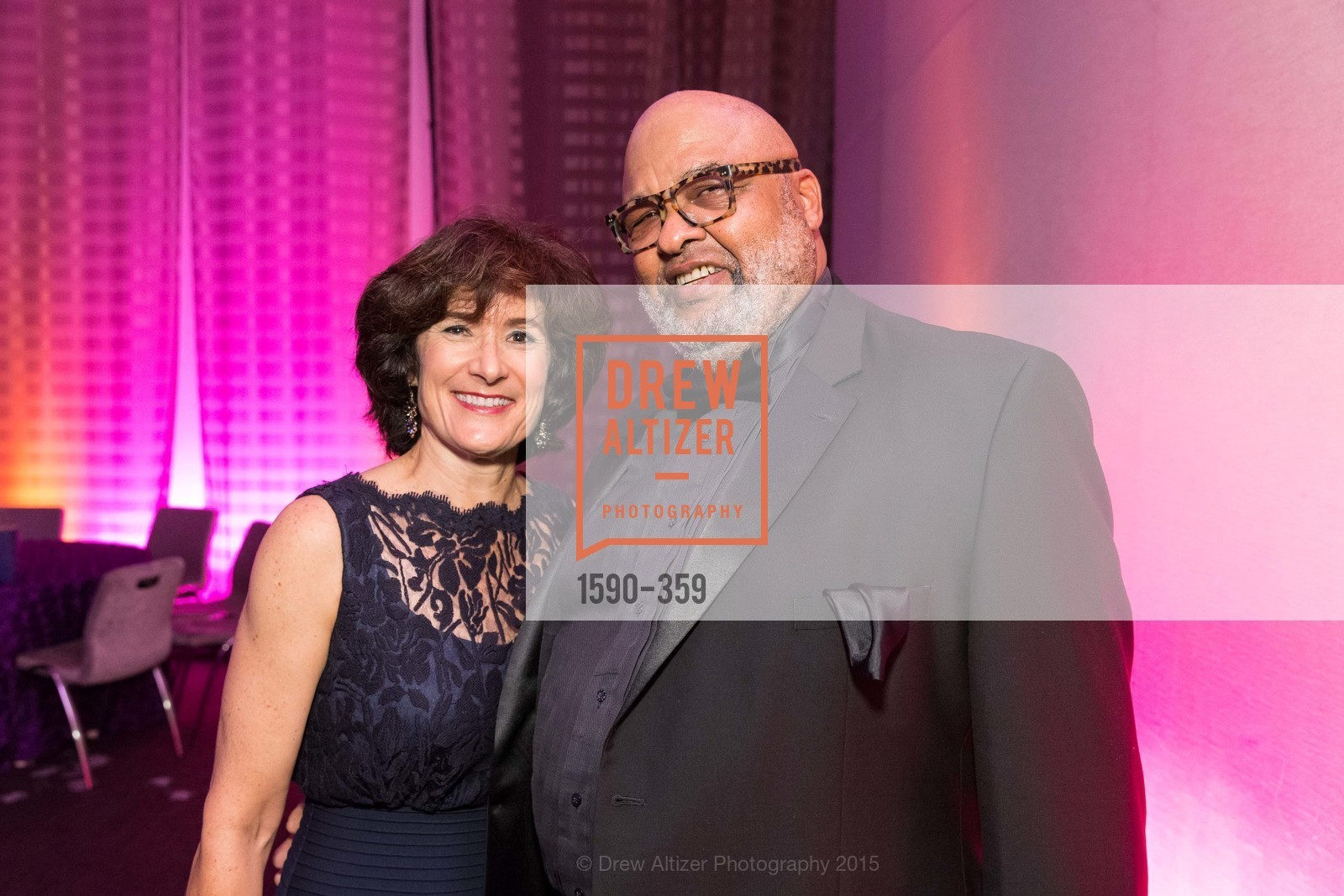Linda Spain DeBruin, Bernard Tyson, 2015 MoAD Gala: Finding the I in Diaspora, MoAD Museum & The St. Regis, October 10th, 2015,Drew Altizer, Drew Altizer Photography, full-service agency, private events, San Francisco photographer, photographer california