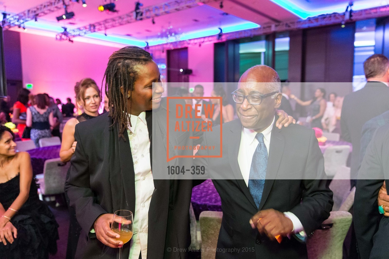 Mickalene Thomas, Michael Warr, 2015 MoAD Gala: Finding the I in Diaspora, MoAD Museum & The St. Regis, October 10th, 2015,Drew Altizer, Drew Altizer Photography, full-service agency, private events, San Francisco photographer, photographer california
