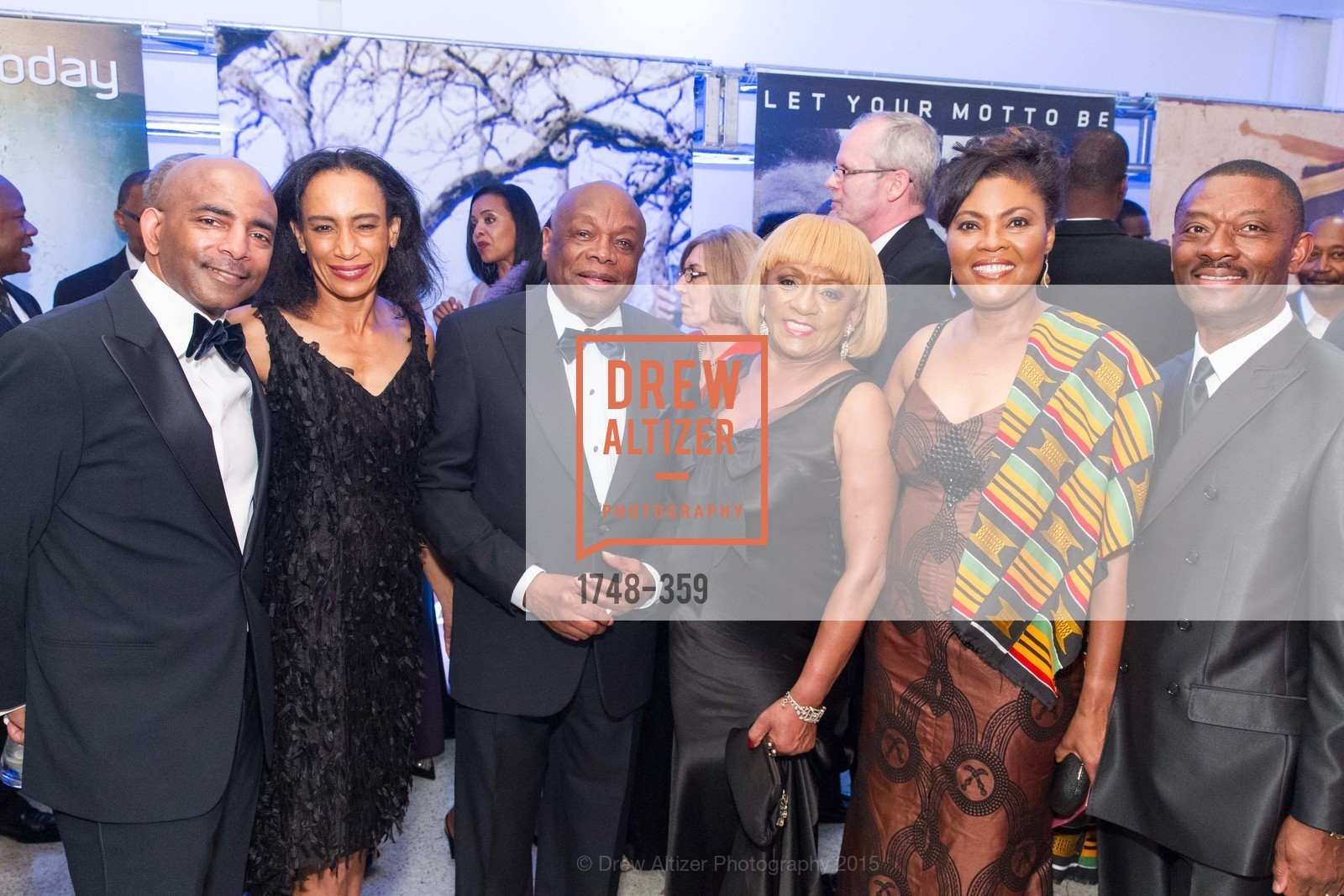 Steve Bowdry, Dail St. Claire, Willie Brown, Brenda Wright, Gladys Moore, Kofi Bonner, 2015 MoAD Gala: Finding the I in Diaspora, MoAD Museum & The St. Regis, October 10th, 2015,Drew Altizer, Drew Altizer Photography, full-service agency, private events, San Francisco photographer, photographer california