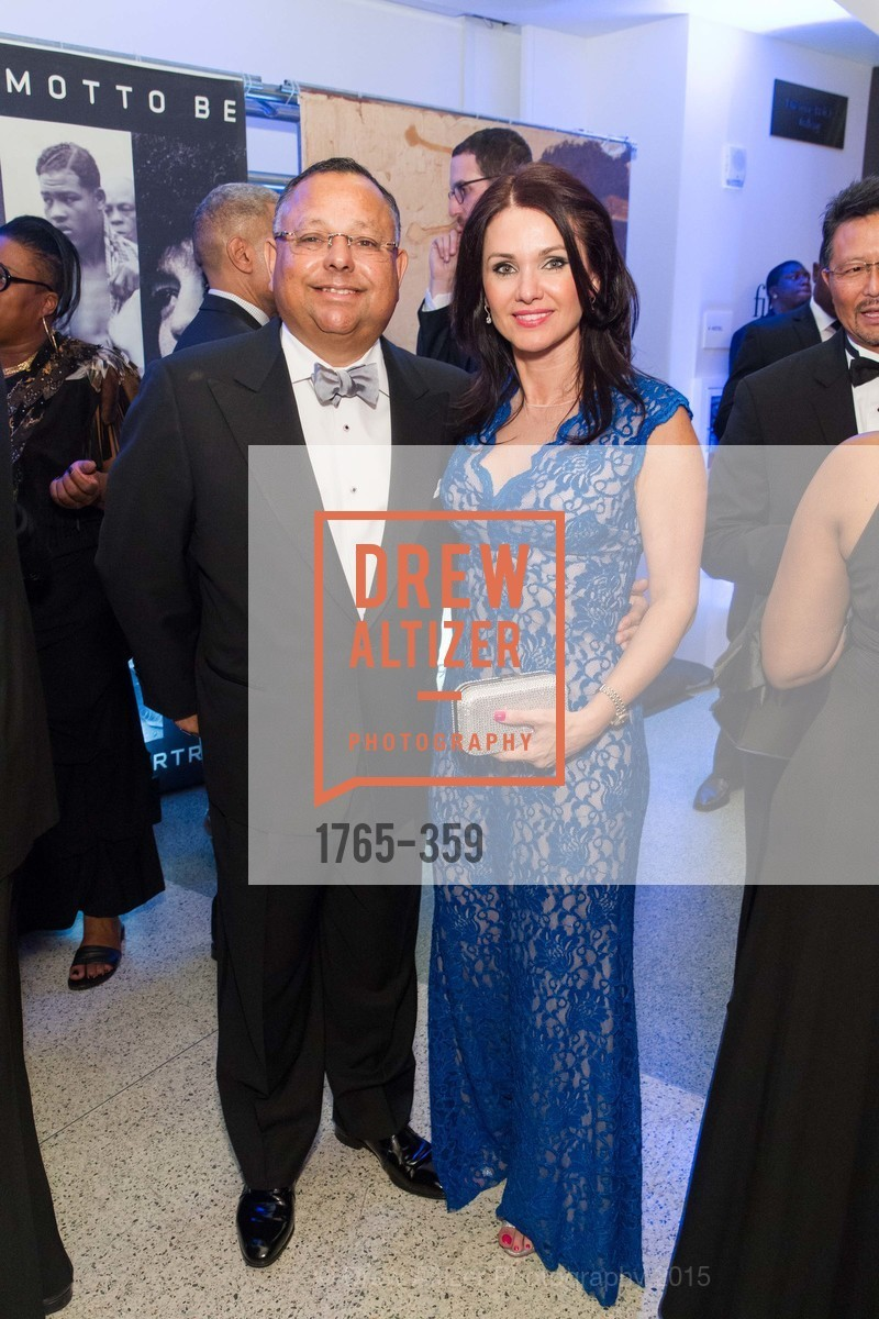 Fred Naranjo, Simona Whitley, 2015 MoAD Gala: Finding the I in Diaspora, MoAD Museum & The St. Regis, October 10th, 2015,Drew Altizer, Drew Altizer Photography, full-service agency, private events, San Francisco photographer, photographer california
