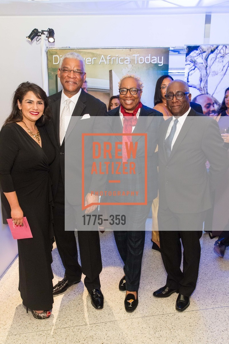 Yasmin Davidds, Julius Robinson, Linda Harrison, Michael Warr, 2015 MoAD Gala: Finding the I in Diaspora, MoAD Museum & The St. Regis, October 10th, 2015,Drew Altizer, Drew Altizer Photography, full-service agency, private events, San Francisco photographer, photographer california