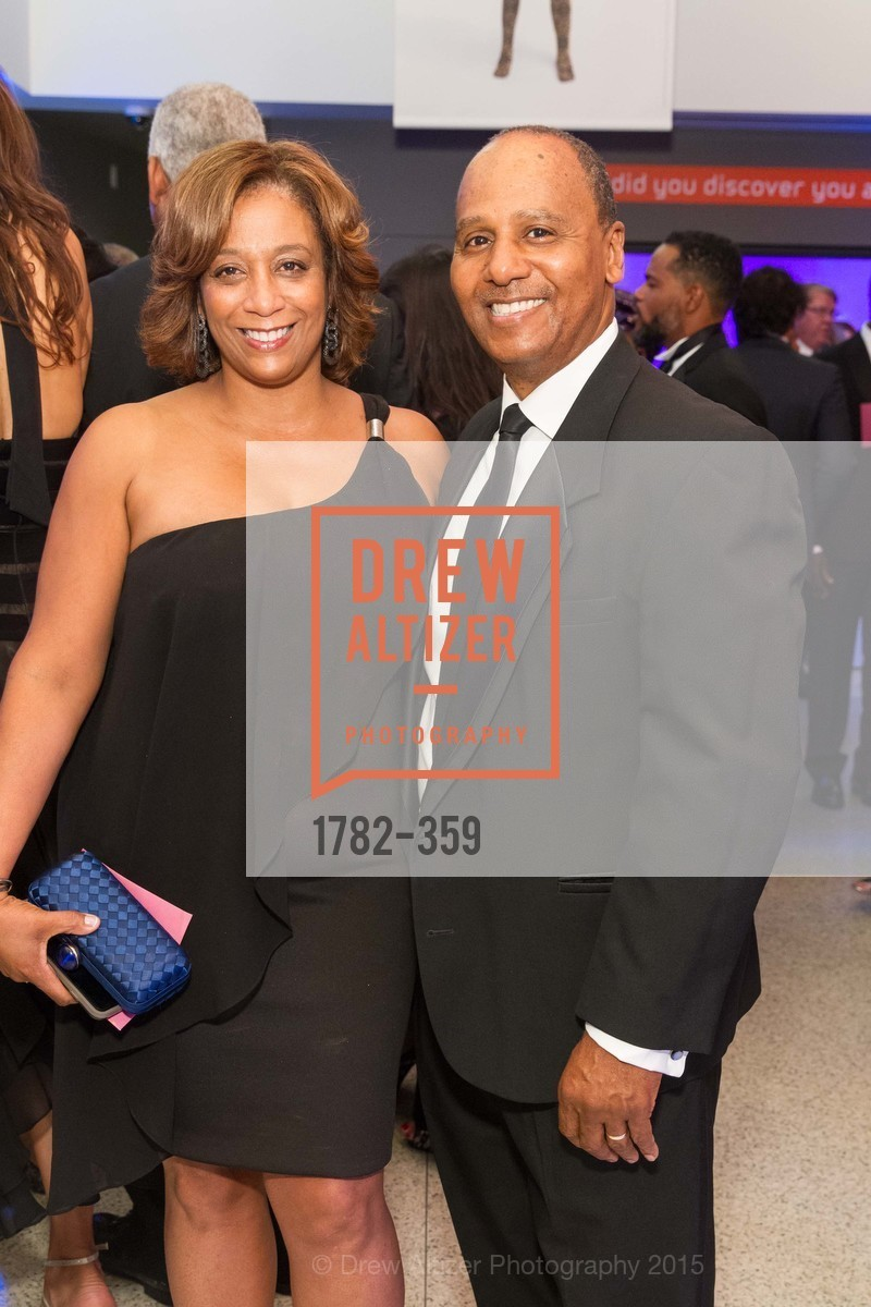 Sonia Johnson Williams, Henry Williams, 2015 MoAD Gala: Finding the I in Diaspora, MoAD Museum & The St. Regis, October 10th, 2015