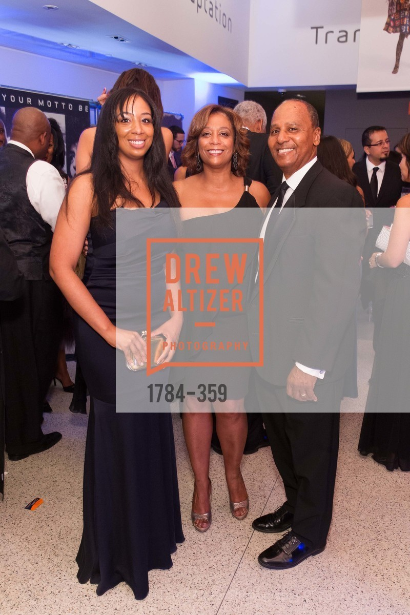 Erica Williams, Sonia Johnson Williams, Henry Williams, 2015 MoAD Gala: Finding the I in Diaspora, MoAD Museum & The St. Regis, October 10th, 2015,Drew Altizer, Drew Altizer Photography, full-service event agency, private events, San Francisco photographer, photographer California