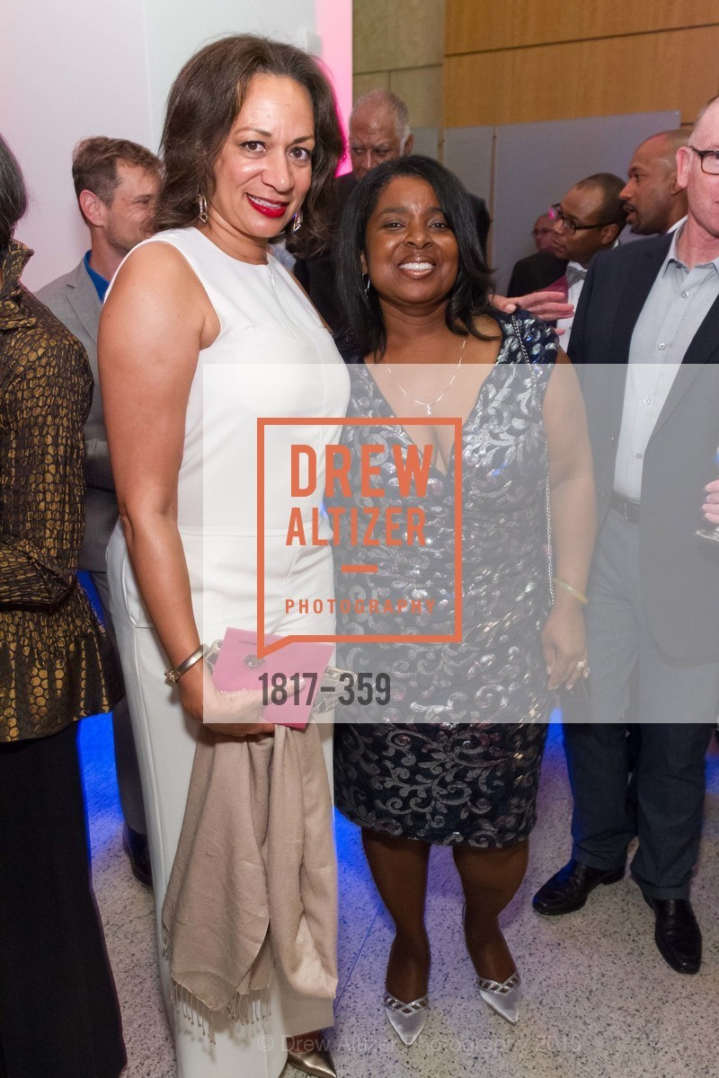 Deirdre Luddington, Yvette Bradford, 2015 MoAD Gala: Finding the I in Diaspora, MoAD Museum & The St. Regis, October 10th, 2015,Drew Altizer, Drew Altizer Photography, full-service agency, private events, San Francisco photographer, photographer california