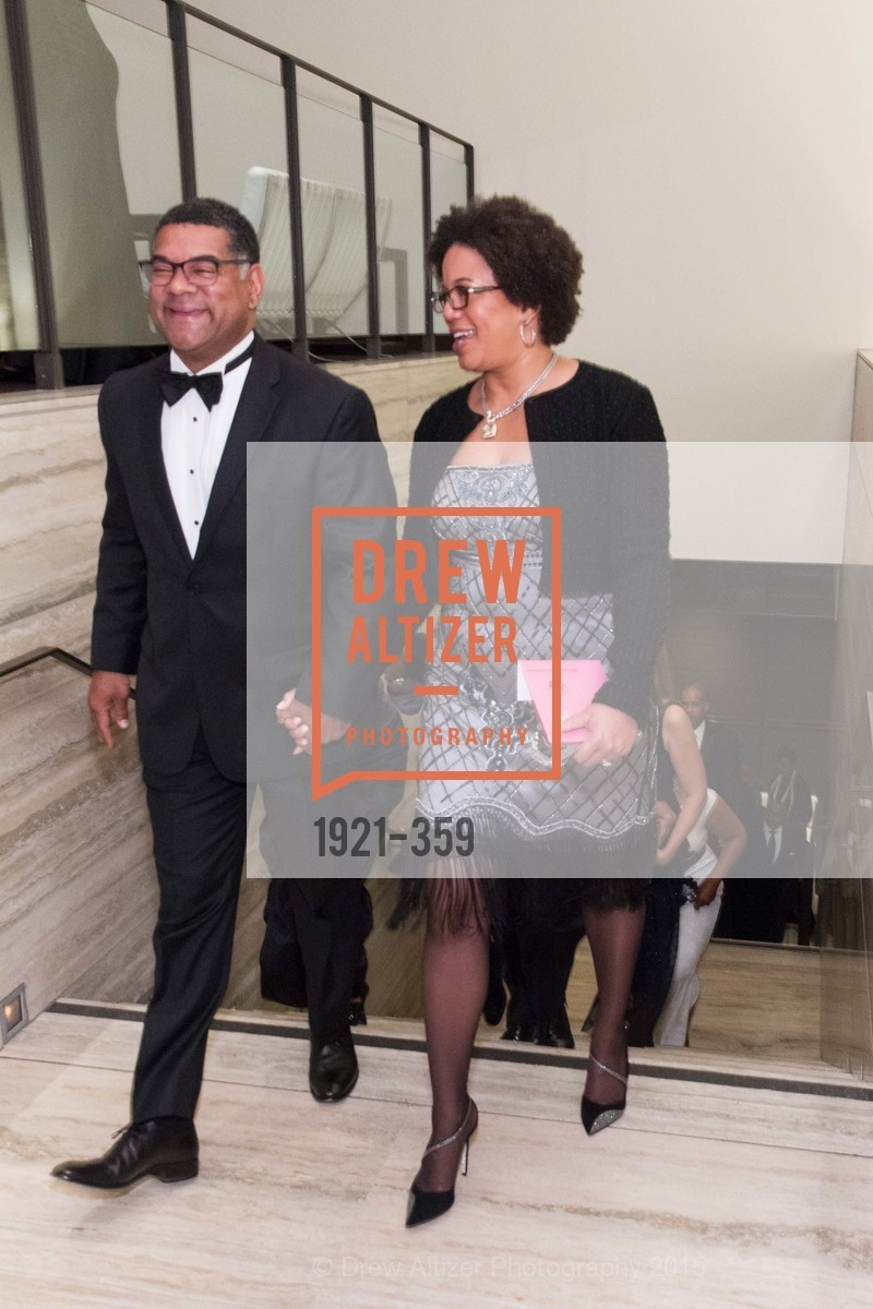 Biff Clark, Yvette Hollingsworth Clark, 2015 MoAD Gala: Finding the I in Diaspora, MoAD Museum & The St. Regis, October 10th, 2015,Drew Altizer, Drew Altizer Photography, full-service agency, private events, San Francisco photographer, photographer california