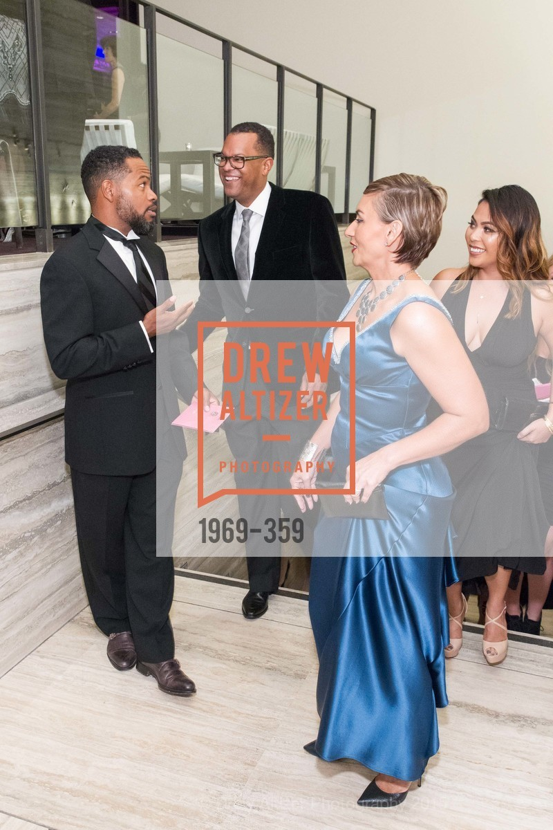 Stephen DeBerry, Fred Blackwell, Cristin DeBerry, 2015 MoAD Gala: Finding the I in Diaspora, MoAD Museum & The St. Regis, October 10th, 2015,Drew Altizer, Drew Altizer Photography, full-service agency, private events, San Francisco photographer, photographer california