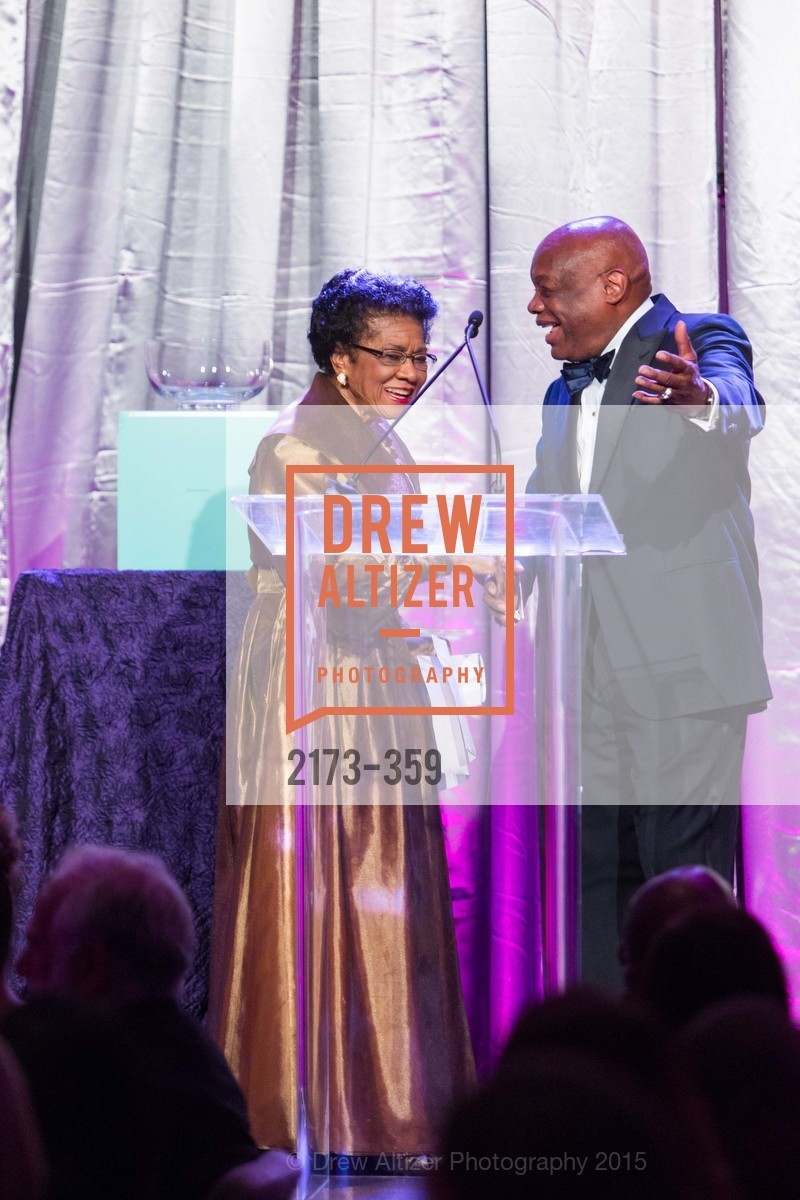 Belva Davis, Willie Brown, 2015 MoAD Gala: Finding the I in Diaspora, MoAD Museum & The St. Regis, October 10th, 2015,Drew Altizer, Drew Altizer Photography, full-service agency, private events, San Francisco photographer, photographer california