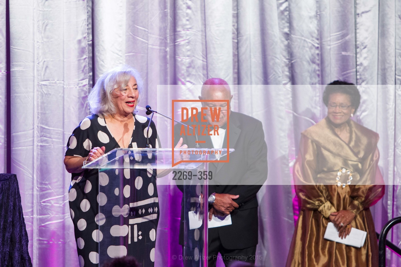 Peggy Woodford Forbes, Harry Bremond, Belva Davis, 2015 MoAD Gala: Finding the I in Diaspora, MoAD Museum & The St. Regis, October 10th, 2015,Drew Altizer, Drew Altizer Photography, full-service agency, private events, San Francisco photographer, photographer california