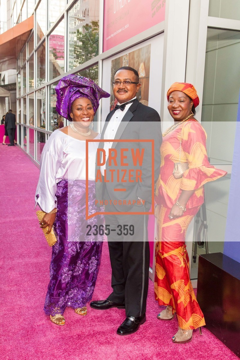 Vivian Rowangi, Ray Rowangi, Catherine Budu, 2015 MoAD Gala: Finding the I in Diaspora, MoAD Museum & The St. Regis, October 10th, 2015,Drew Altizer, Drew Altizer Photography, full-service agency, private events, San Francisco photographer, photographer california