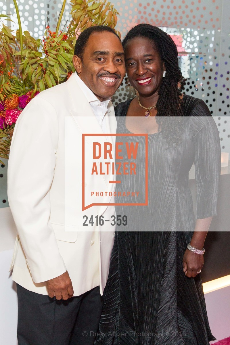 Emmett Carson, Jackie Carson, 2015 MoAD Gala: Finding the I in Diaspora, MoAD Museum & The St. Regis, October 10th, 2015,Drew Altizer, Drew Altizer Photography, full-service agency, private events, San Francisco photographer, photographer california