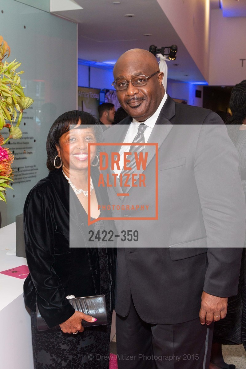 Vicki Copeland, Ronald Copeland, 2015 MoAD Gala: Finding the I in Diaspora, MoAD Museum & The St. Regis, October 10th, 2015,Drew Altizer, Drew Altizer Photography, full-service agency, private events, San Francisco photographer, photographer california