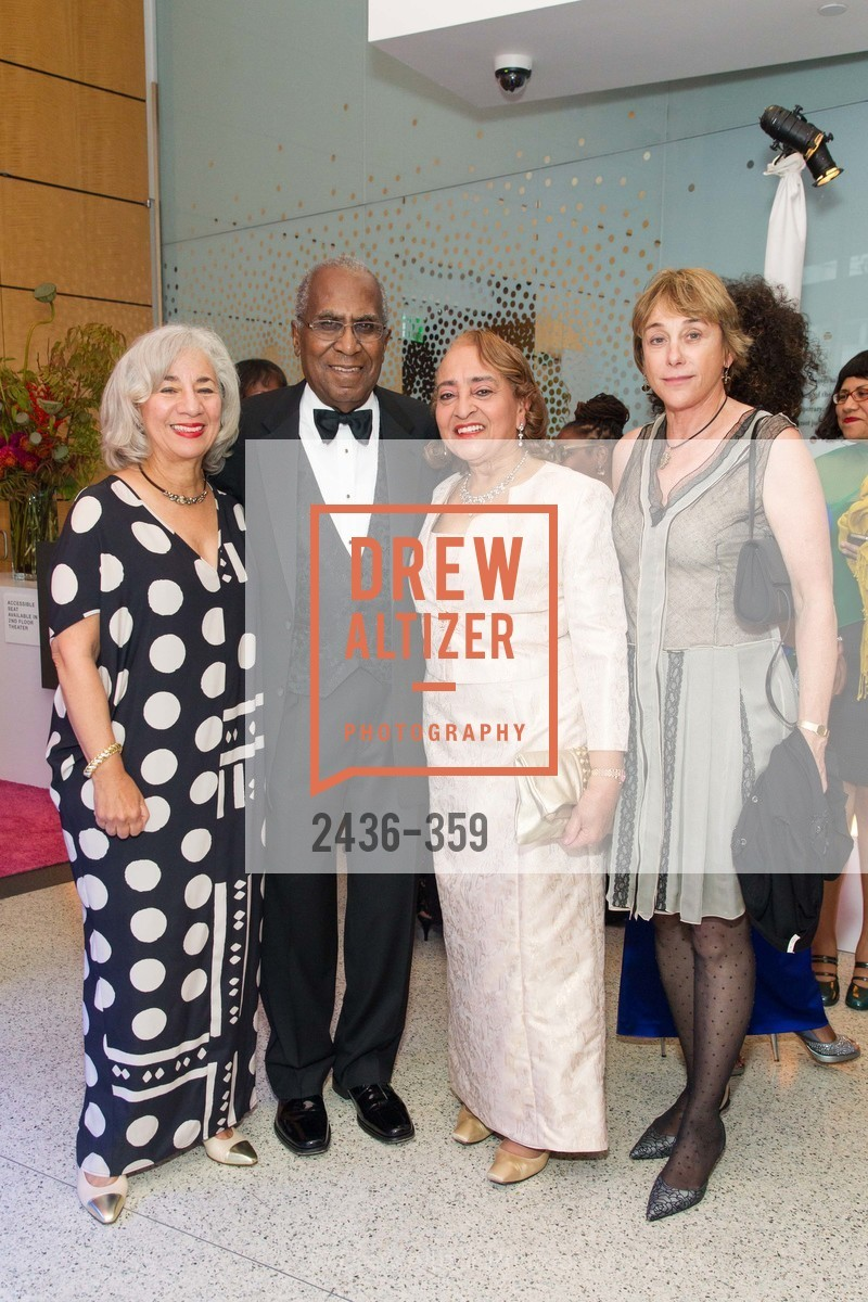 Peggy Woodford Forbes, James Lowell Gibbs, Jewelle Taylor Gibbs, Kathryn Muether, 2015 MoAD Gala: Finding the I in Diaspora, MoAD Museum & The St. Regis, October 10th, 2015,Drew Altizer, Drew Altizer Photography, full-service event agency, private events, San Francisco photographer, photographer California