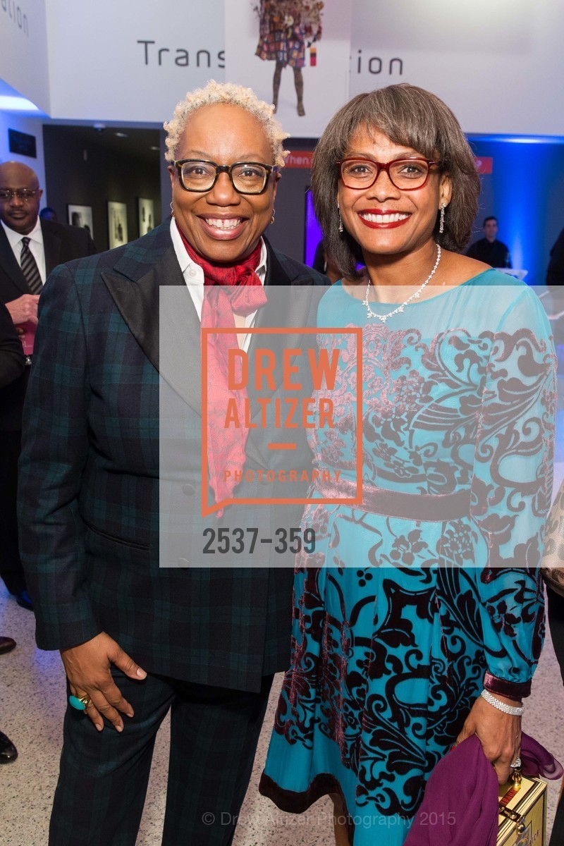 Linda Harrison, Karen Jenkins Johnson, 2015 MoAD Gala: Finding the I in Diaspora, MoAD Museum & The St. Regis, October 10th, 2015,Drew Altizer, Drew Altizer Photography, full-service agency, private events, San Francisco photographer, photographer california