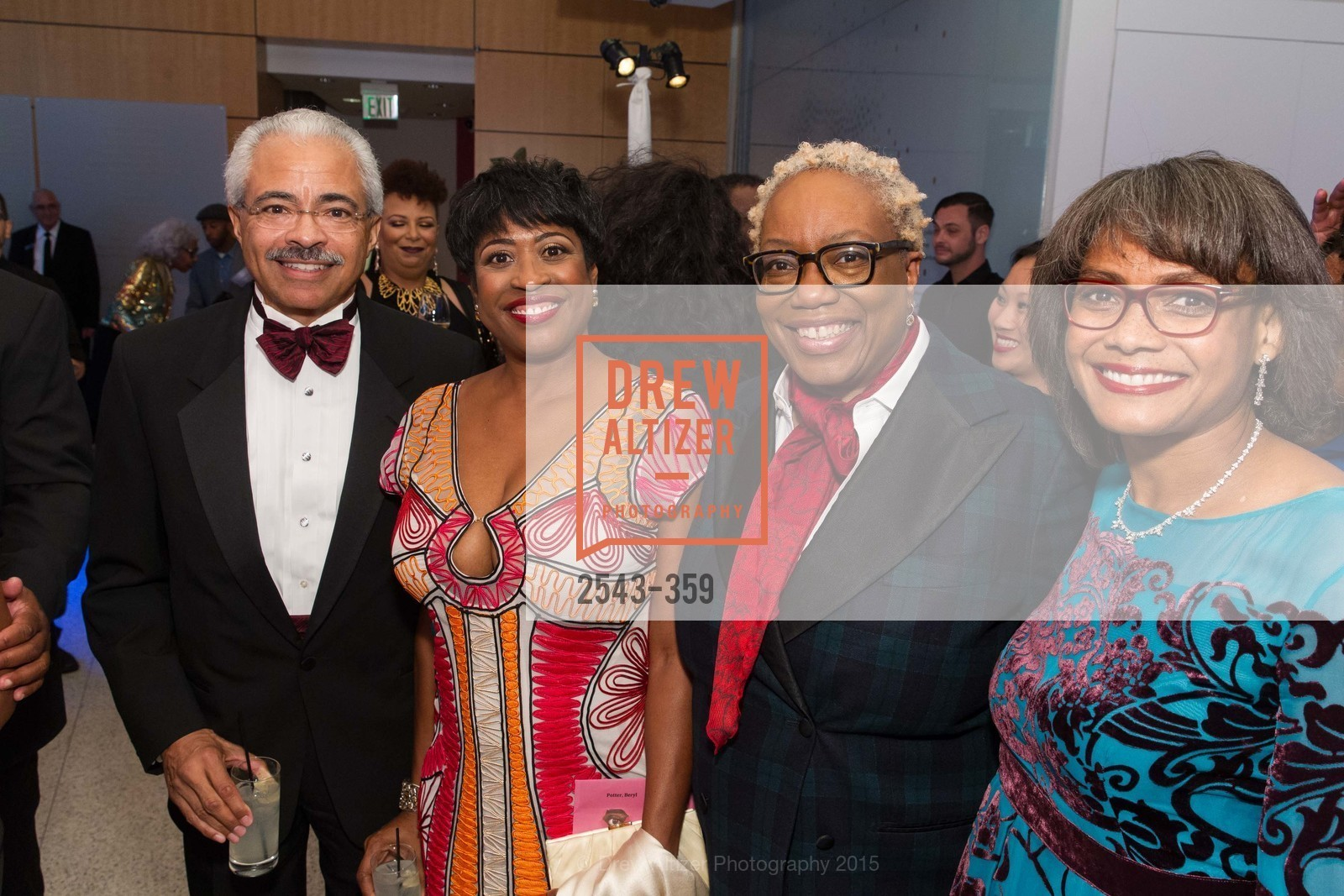 James Potter, Beryl Potter, Linda Harrison, Karen Jenkins Johnson, 2015 MoAD Gala: Finding the I in Diaspora, MoAD Museum & The St. Regis, October 10th, 2015,Drew Altizer, Drew Altizer Photography, full-service agency, private events, San Francisco photographer, photographer california