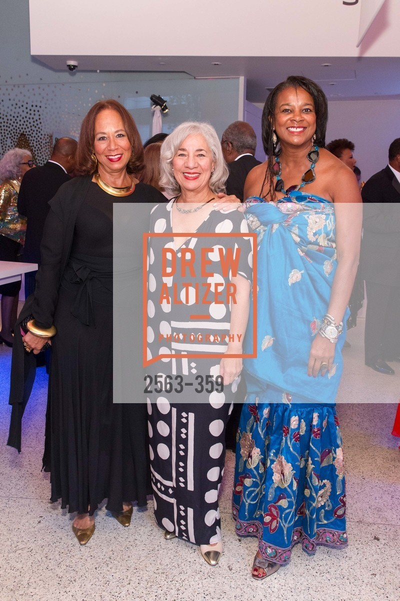 Schyleen Qualls-Brown, Peggy Woodford Forbes, Vicki Hughes, 2015 MoAD Gala: Finding the I in Diaspora, MoAD Museum & The St. Regis, October 10th, 2015,Drew Altizer, Drew Altizer Photography, full-service agency, private events, San Francisco photographer, photographer california