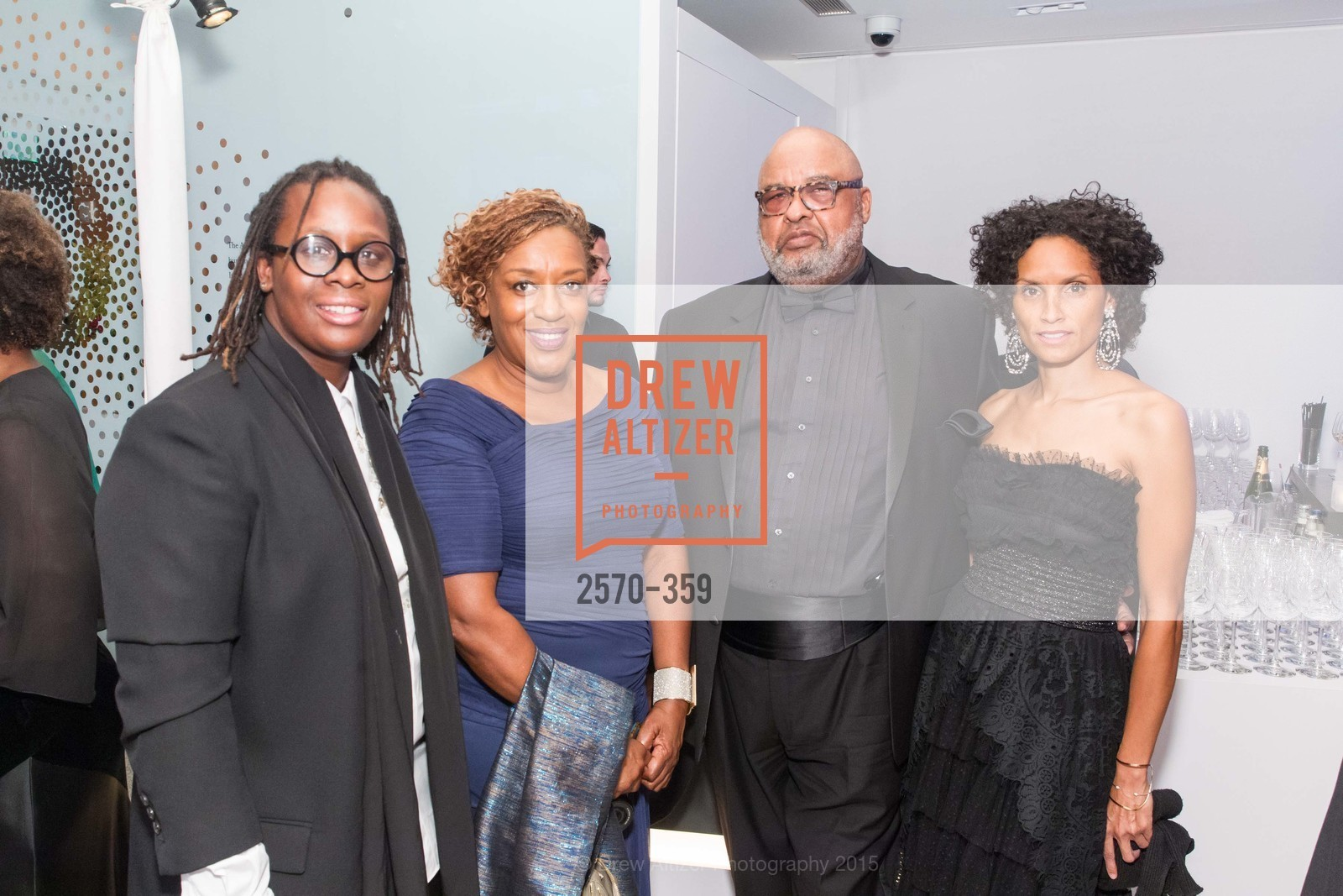 Mickalene Thomas, CCH Pounder, Gregory Edwards, Raquel Chevremont, 2015 MoAD Gala: Finding the I in Diaspora, MoAD Museum & The St. Regis, October 10th, 2015,Drew Altizer, Drew Altizer Photography, full-service agency, private events, San Francisco photographer, photographer california