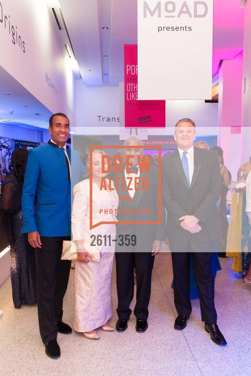 Lowell Gibbs, Jewelle Taylor Gibbs, James Lowell Gibbs, Michael Watenpaugh, 2015 MoAD Gala: Finding the I in Diaspora, MoAD Museum & The St. Regis, October 10th, 2015,Drew Altizer, Drew Altizer Photography, full-service event agency, private events, San Francisco photographer, photographer California