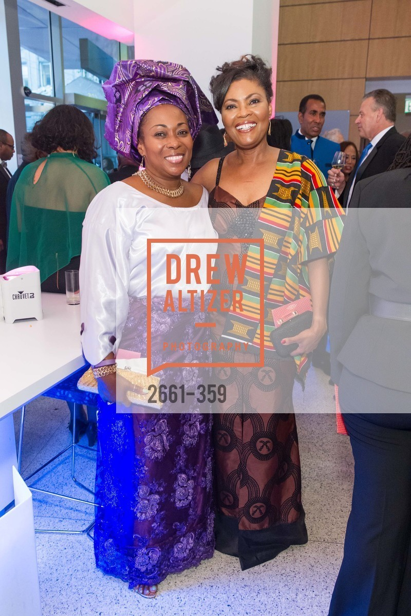 Vivian Rawanji, Gladys Moore, 2015 MoAD Gala: Finding the I in Diaspora, MoAD Museum & The St. Regis, October 10th, 2015,Drew Altizer, Drew Altizer Photography, full-service agency, private events, San Francisco photographer, photographer california