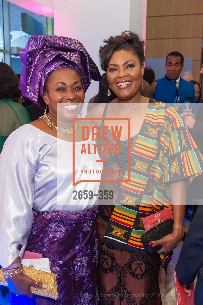 Vivian Rowangi, Gladys Moore, 2015 MoAD Gala: Finding the I in Diaspora, MoAD Museum & The St. Regis, October 10th, 2015,Drew Altizer, Drew Altizer Photography, full-service agency, private events, San Francisco photographer, photographer california