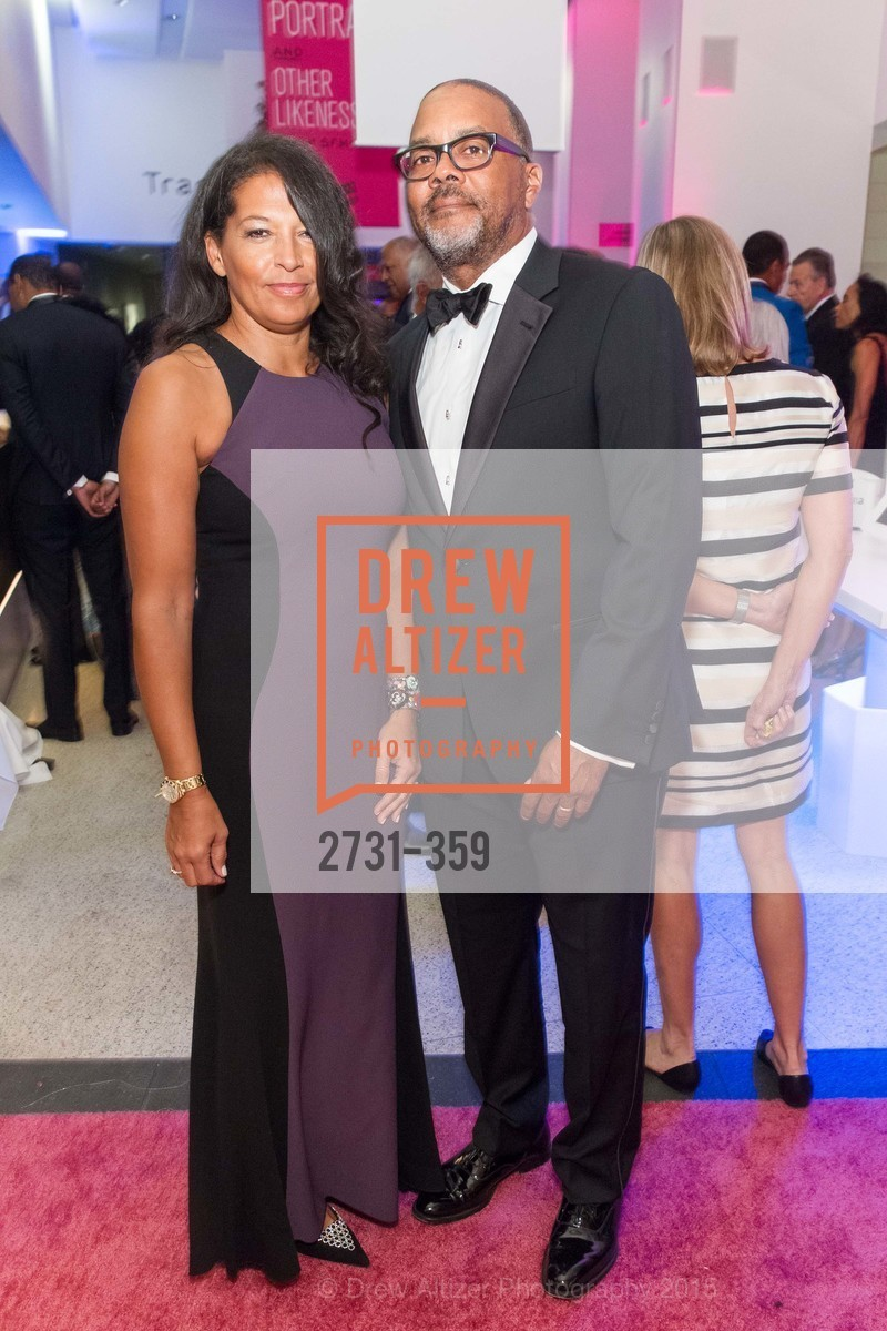 Rebecca Clark, Ralph Clark, 2015 MoAD Gala: Finding the I in Diaspora, MoAD Museum & The St. Regis, October 10th, 2015,Drew Altizer, Drew Altizer Photography, full-service agency, private events, San Francisco photographer, photographer california