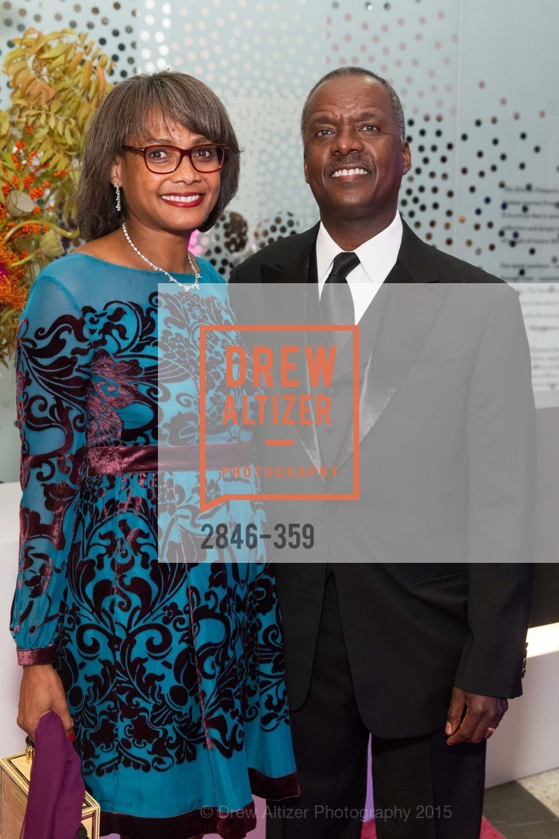 Karen Jenkins Johnson, Kevin Johnson, 2015 MoAD Gala: Finding the I in Diaspora, MoAD Museum & The St. Regis, October 10th, 2015,Drew Altizer, Drew Altizer Photography, full-service agency, private events, San Francisco photographer, photographer california