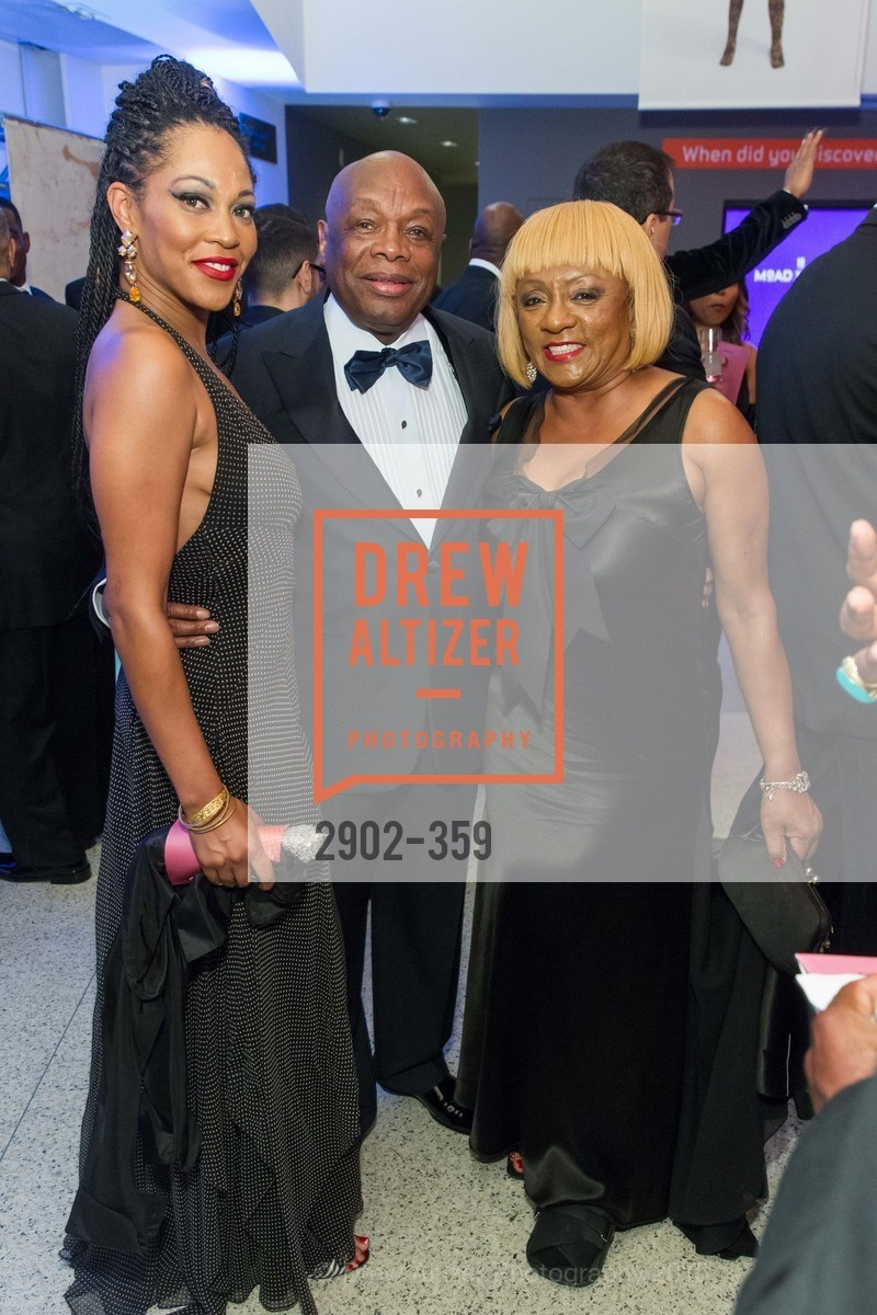 Amanda Wright, Willie Brown, Brenda Wright, 2015 MoAD Gala: Finding the I in Diaspora, MoAD Museum & The St. Regis, October 10th, 2015,Drew Altizer, Drew Altizer Photography, full-service agency, private events, San Francisco photographer, photographer california