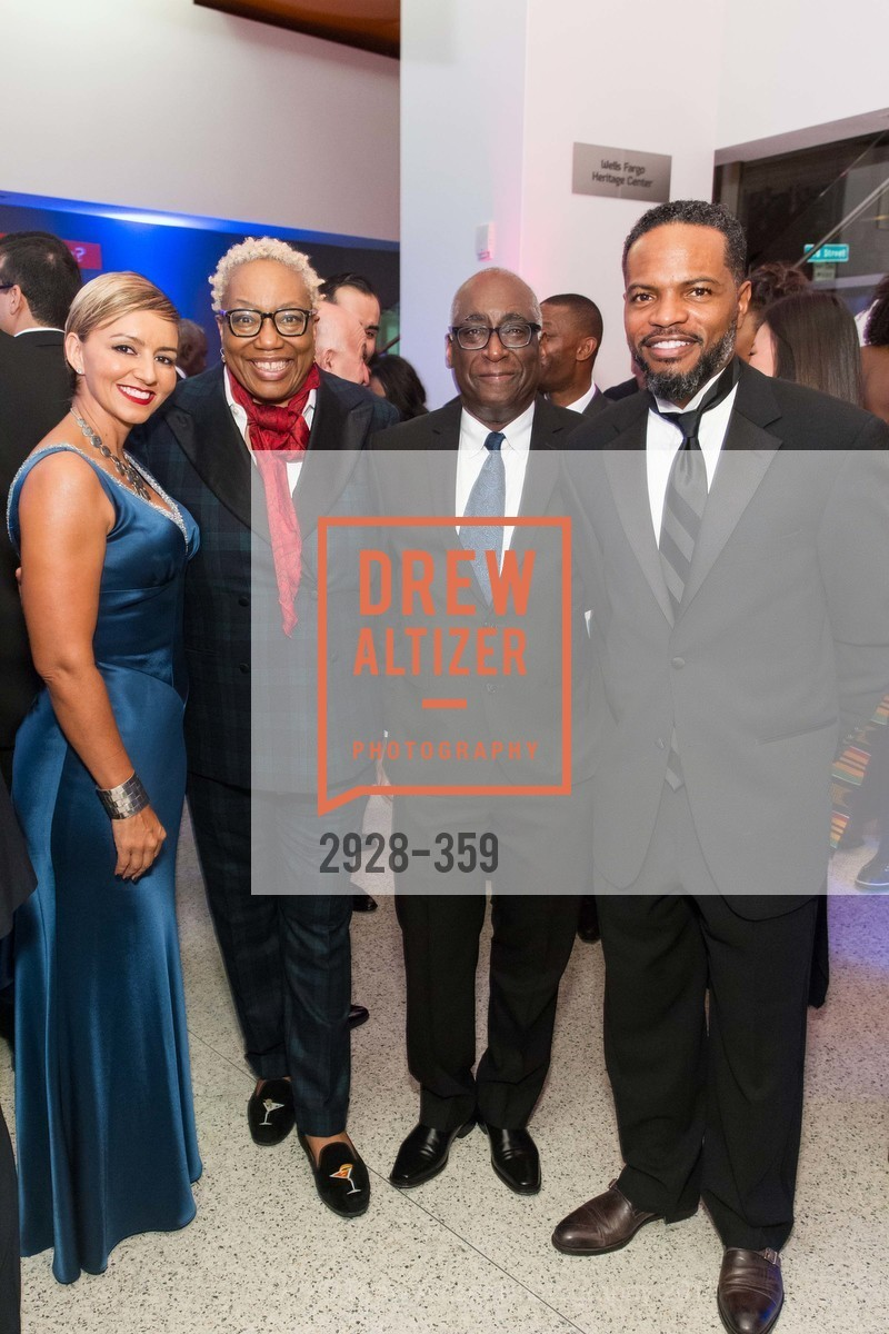 Cristin DeBerry, Linda Harrison, Michael Warr, Stephen DeBerry, 2015 MoAD Gala: Finding the I in Diaspora, MoAD Museum & The St. Regis, October 10th, 2015,Drew Altizer, Drew Altizer Photography, full-service event agency, private events, San Francisco photographer, photographer California