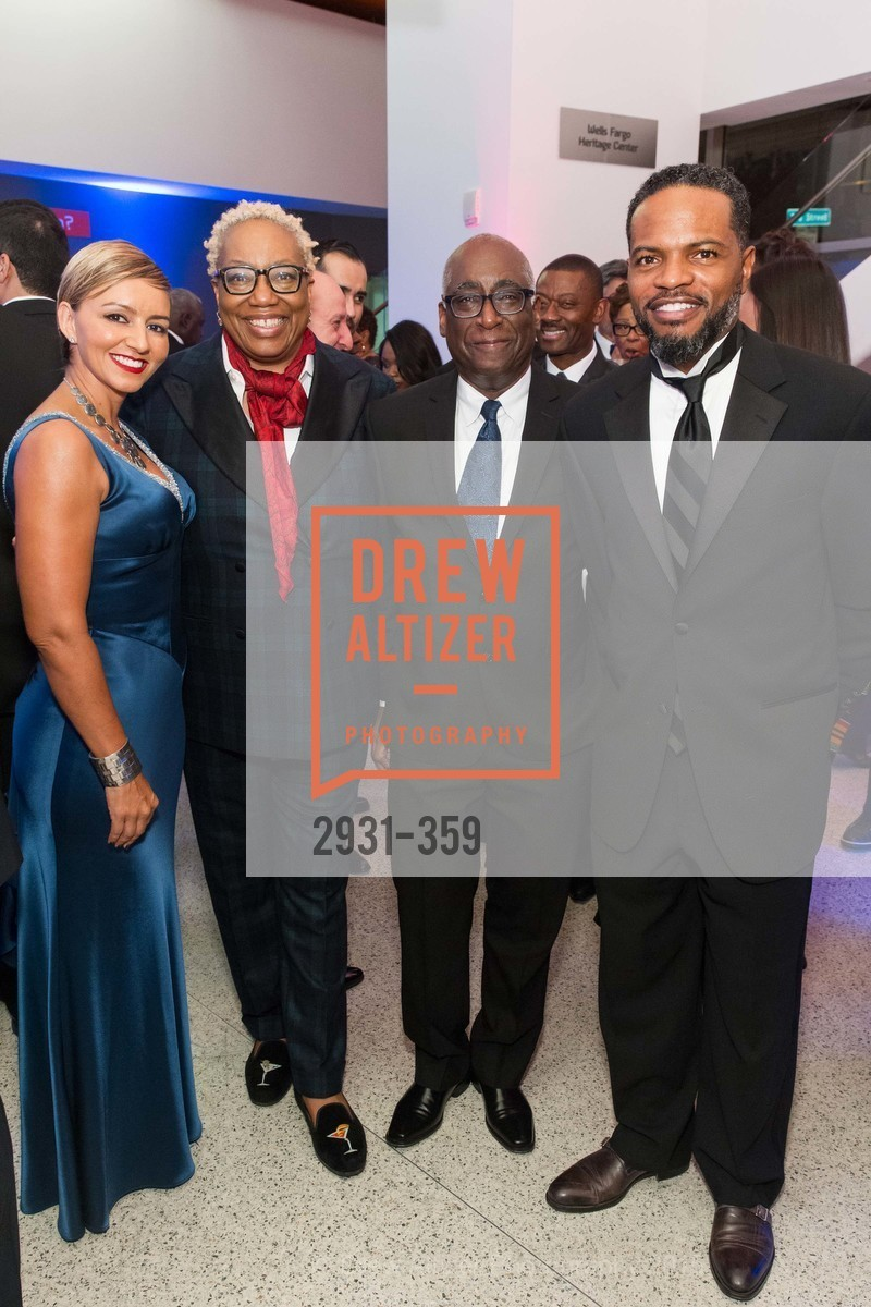 Cristin DeBerry, Linda Harrison, Michael Warr, Stephen DeBerry, 2015 MoAD Gala: Finding the I in Diaspora, MoAD Museum & The St. Regis, October 10th, 2015,Drew Altizer, Drew Altizer Photography, full-service agency, private events, San Francisco photographer, photographer california
