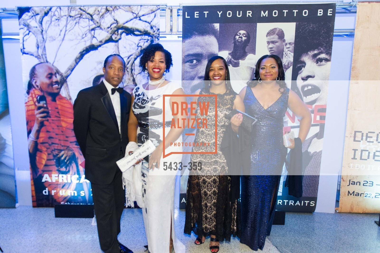 Wayne Jackson, Lashon Walker, Antoinette Otis, Takija Gardner, 2015 MoAD Gala: Finding the I in Diaspora, MoAD Museum & The St. Regis, October 10th, 2015,Drew Altizer, Drew Altizer Photography, full-service agency, private events, San Francisco photographer, photographer california