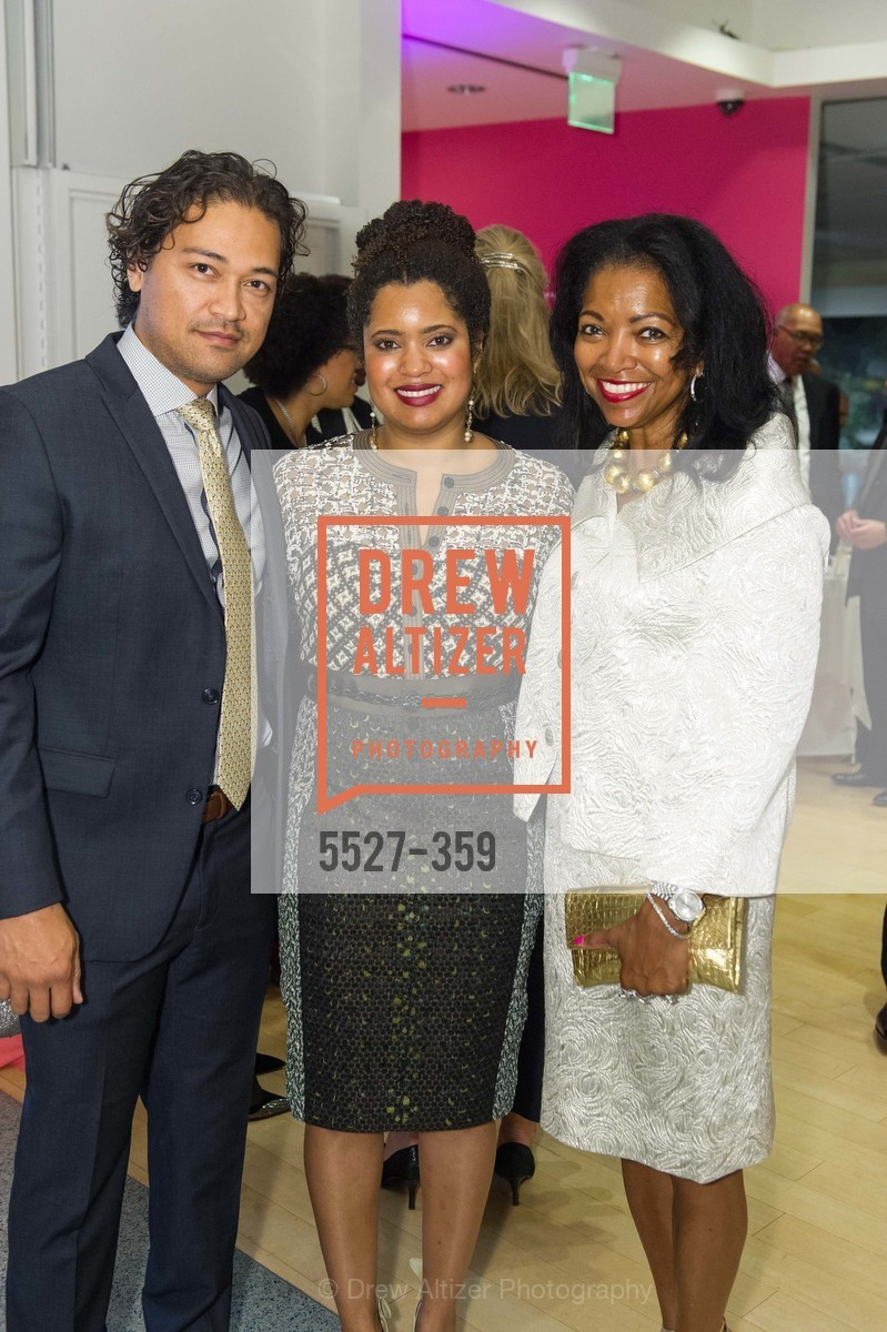 Leroy Wilkes, Nia Wilkes, Denise Bradley Tyson, 2015 MoAD Gala: Finding the I in Diaspora, MoAD Museum & The St. Regis, October 10th, 2015,Drew Altizer, Drew Altizer Photography, full-service agency, private events, San Francisco photographer, photographer california