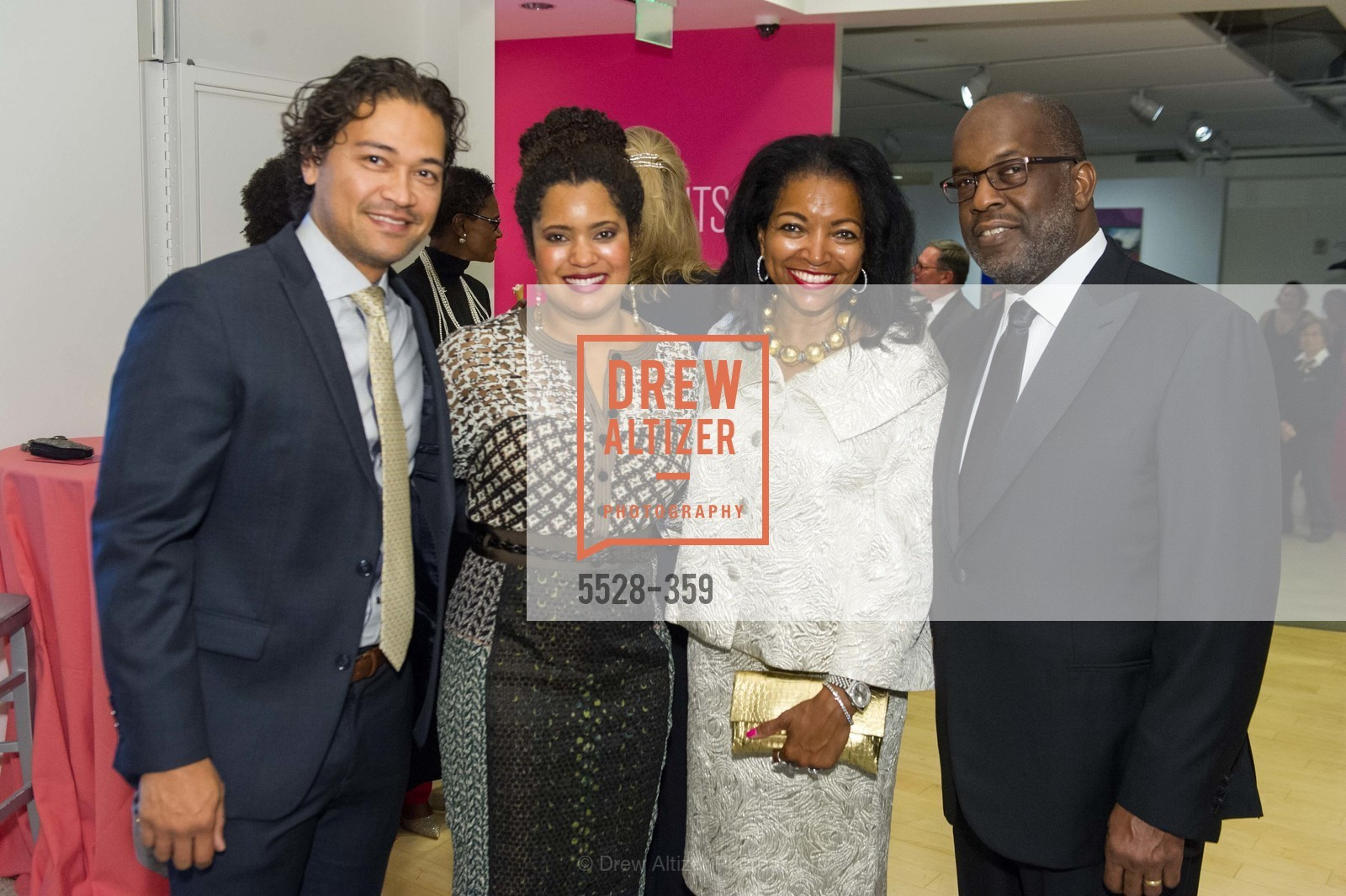 Leroy Wilkes, Nia Wilkes, Denise Bradley Tyson, Bernard Tyson, 2015 MoAD Gala: Finding the I in Diaspora, MoAD Museum & The St. Regis, October 10th, 2015,Drew Altizer, Drew Altizer Photography, full-service agency, private events, San Francisco photographer, photographer california