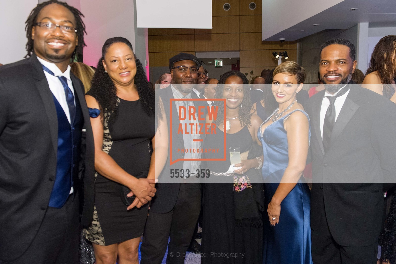Kalimah Priforce, Olis Simmons, Jahi Naho, Kelley Nayo, Cristin DeBerry, Stephen DeBerry, 2015 MoAD Gala: Finding the I in Diaspora, MoAD Museum & The St. Regis, October 10th, 2015,Drew Altizer, Drew Altizer Photography, full-service agency, private events, San Francisco photographer, photographer california