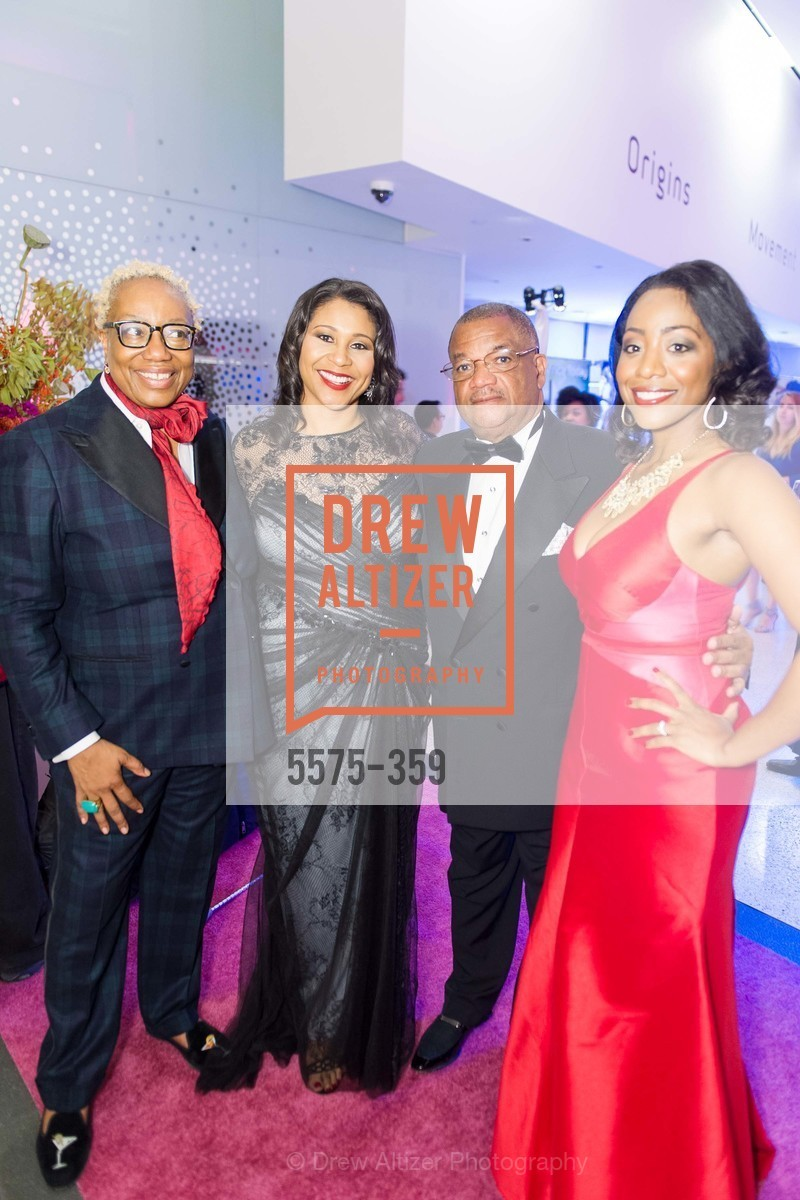 Linda Harrison, London Breed, Carl Hackney, Malia Cohen, 2015 MoAD Gala: Finding the I in Diaspora, MoAD Museum & The St. Regis, October 10th, 2015,Drew Altizer, Drew Altizer Photography, full-service agency, private events, San Francisco photographer, photographer california