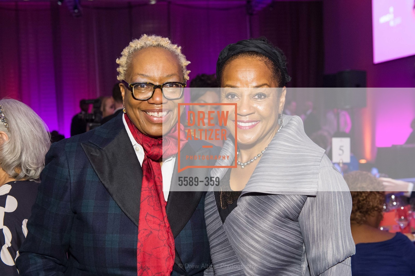 Linda Harrison, Michele Davis, 2015 MoAD Gala: Finding the I in Diaspora, MoAD Museum & The St. Regis, October 10th, 2015,Drew Altizer, Drew Altizer Photography, full-service agency, private events, San Francisco photographer, photographer california