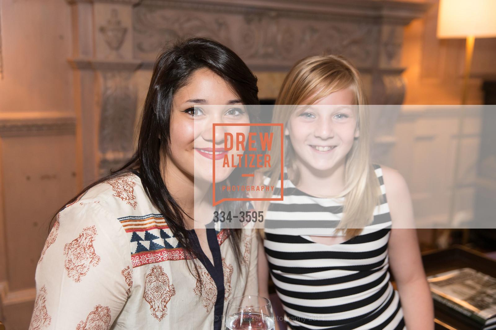 Chloe Anderson with Maya Miller