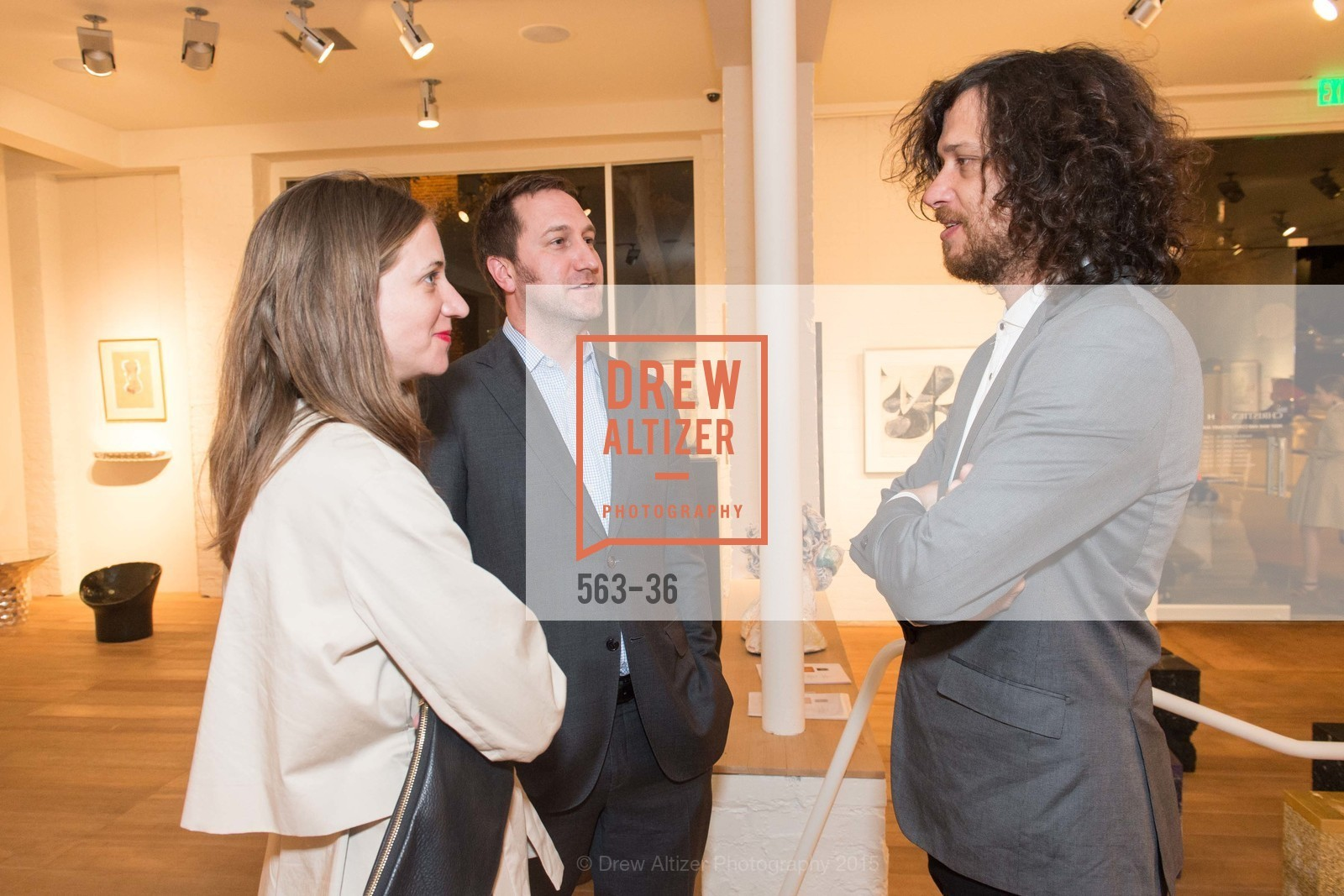 Aimee Friberg, Jonathan Laib, Juan Sorrentino, Post War and Contemporary preview at Hedge Gallery , Hedge Gallery. 501 Pacific Ave, San Francisco, CA 94133, April 16th, 2015,Drew Altizer, Drew Altizer Photography, full-service agency, private events, San Francisco photographer, photographer california