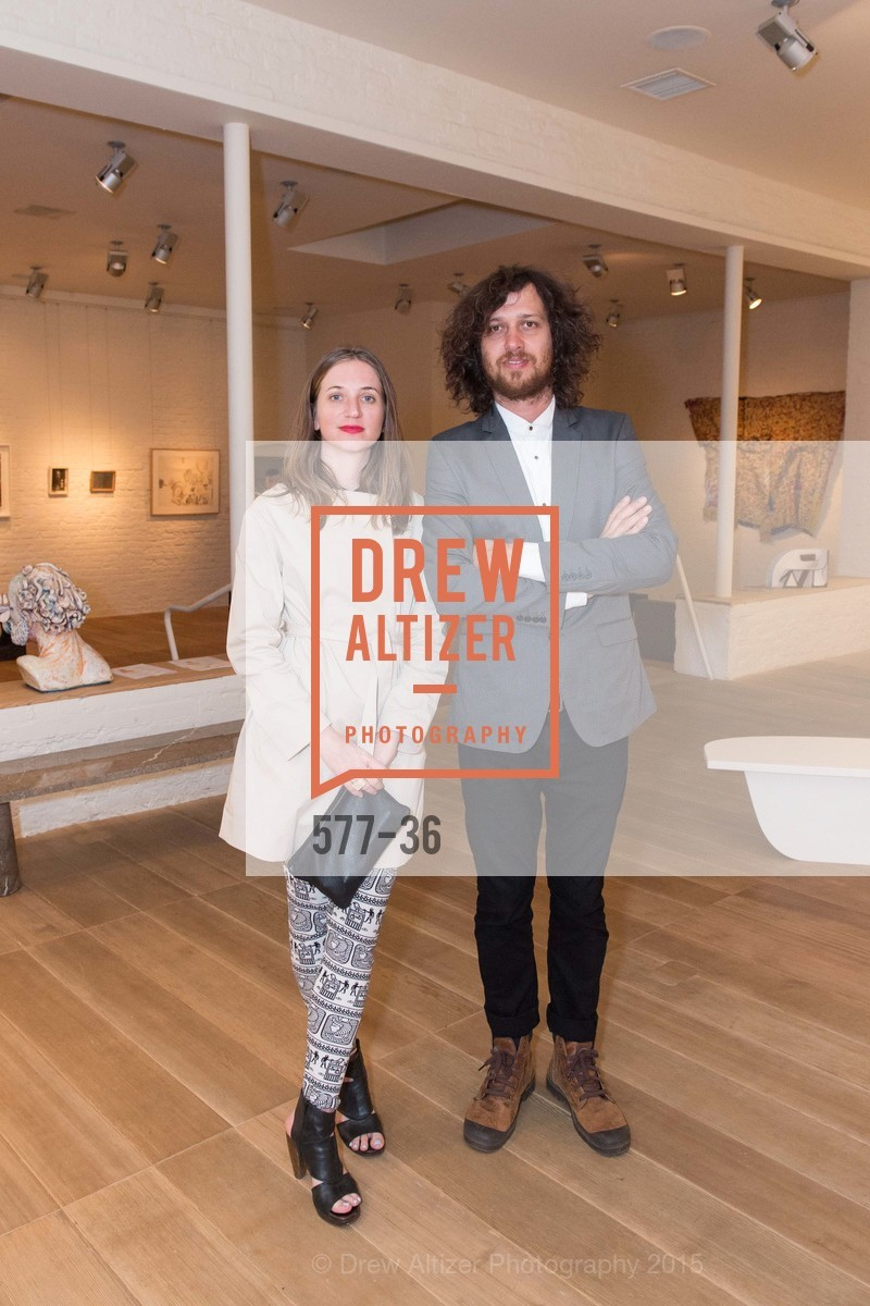 Aimee Friberg, Juan Sorrentino, Post War and Contemporary preview at Hedge Gallery , Hedge Gallery. 501 Pacific Ave, San Francisco, CA 94133, April 16th, 2015,Drew Altizer, Drew Altizer Photography, full-service agency, private events, San Francisco photographer, photographer california