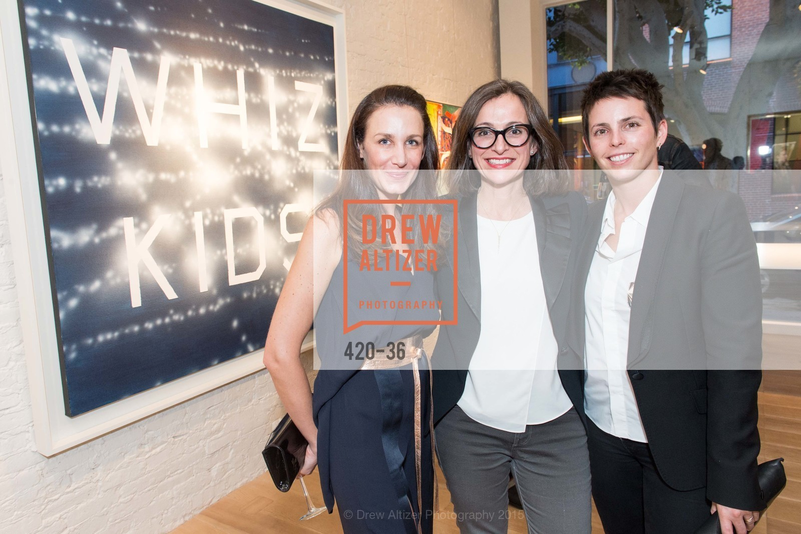 Catecine Milliot, Sarah Thornton, Jessica Silverman, Post War and Contemporary preview at Hedge Gallery , Hedge Gallery. 501 Pacific Ave, San Francisco, CA 94133, April 16th, 2015,Drew Altizer, Drew Altizer Photography, full-service agency, private events, San Francisco photographer, photographer california