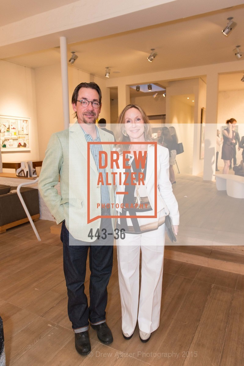 Paul Wattis, Ann Wattis, Post War and Contemporary preview at Hedge Gallery , Hedge Gallery. 501 Pacific Ave, San Francisco, CA 94133, April 16th, 2015,Drew Altizer, Drew Altizer Photography, full-service agency, private events, San Francisco photographer, photographer california