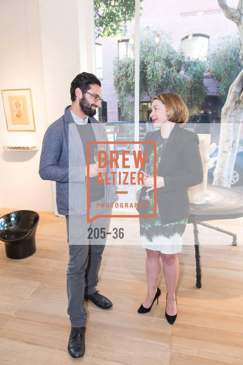 Joseph Becker, Melissa Emergui, Post War and Contemporary preview at Hedge Gallery , Hedge Gallery. 501 Pacific Ave, San Francisco, CA 94133, April 16th, 2015,Drew Altizer, Drew Altizer Photography, full-service agency, private events, San Francisco photographer, photographer california