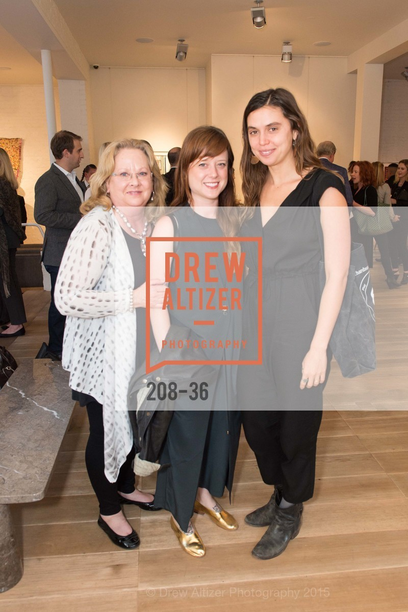 Susan Geremia, Lauren Geremia, Jacqueline Tobia, Post War and Contemporary preview at Hedge Gallery , Hedge Gallery. 501 Pacific Ave, San Francisco, CA 94133, April 16th, 2015,Drew Altizer, Drew Altizer Photography, full-service agency, private events, San Francisco photographer, photographer california