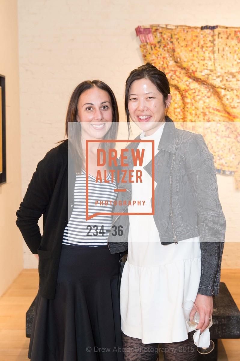 Marie Reaman, Sarah Lacke, Post War and Contemporary preview at Hedge Gallery , Hedge Gallery. 501 Pacific Ave, San Francisco, CA 94133, April 16th, 2015,Drew Altizer, Drew Altizer Photography, full-service agency, private events, San Francisco photographer, photographer california