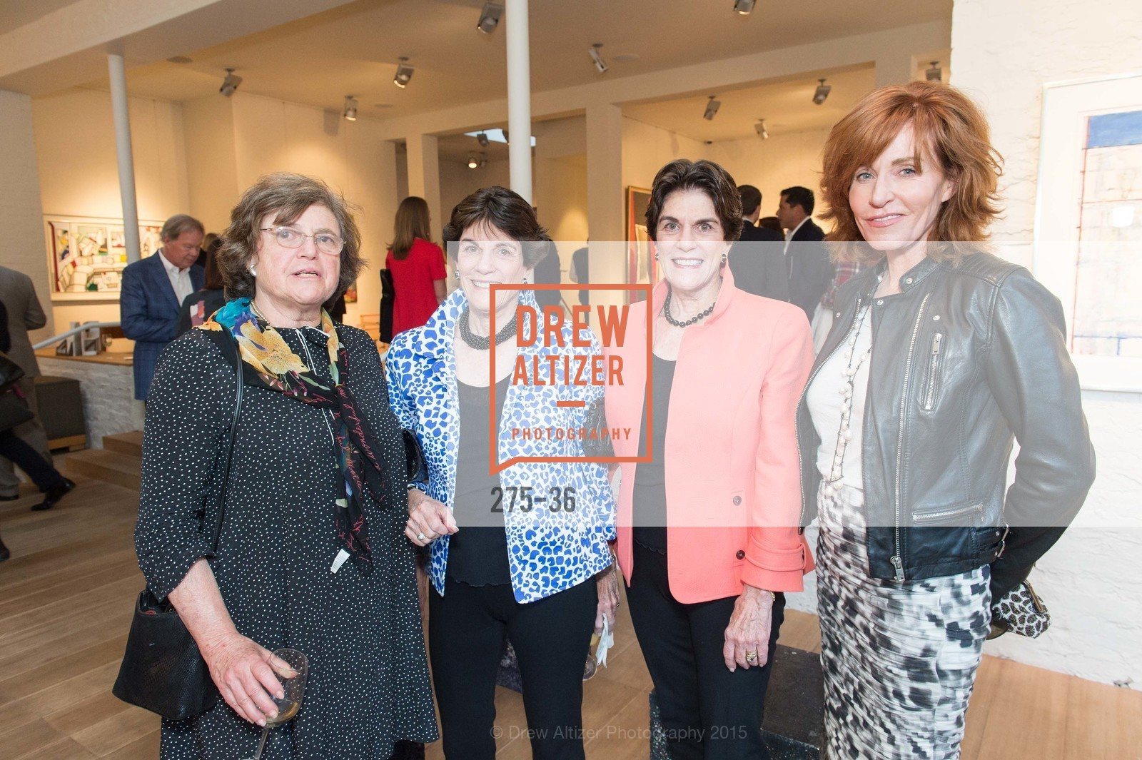 Daphne Bransten, Penny Eisle, Francie Steimer, Brenda Jewett, Post War and Contemporary preview at Hedge Gallery , Hedge Gallery. 501 Pacific Ave, San Francisco, CA 94133, April 16th, 2015,Drew Altizer, Drew Altizer Photography, full-service agency, private events, San Francisco photographer, photographer california