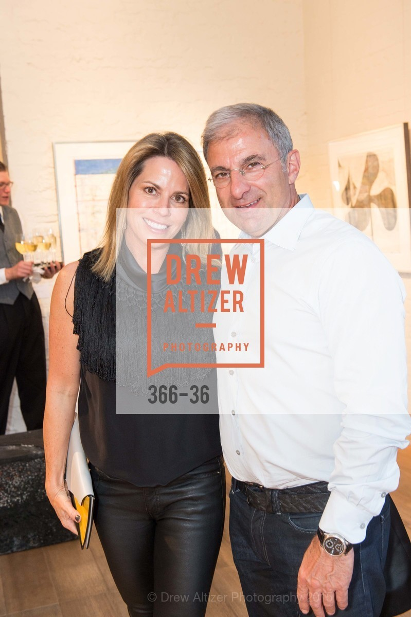 Lisa Bogosian, Brian Bogosian, Post War and Contemporary preview at Hedge Gallery , Hedge Gallery. 501 Pacific Ave, San Francisco, CA 94133, April 16th, 2015,Drew Altizer, Drew Altizer Photography, full-service agency, private events, San Francisco photographer, photographer california