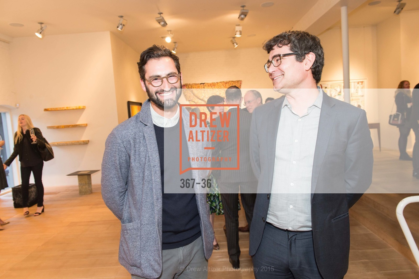 Joseph Becker, Alec Hathaway, Post War and Contemporary preview at Hedge Gallery , Hedge Gallery. 501 Pacific Ave, San Francisco, CA 94133, April 16th, 2015,Drew Altizer, Drew Altizer Photography, full-service agency, private events, San Francisco photographer, photographer california
