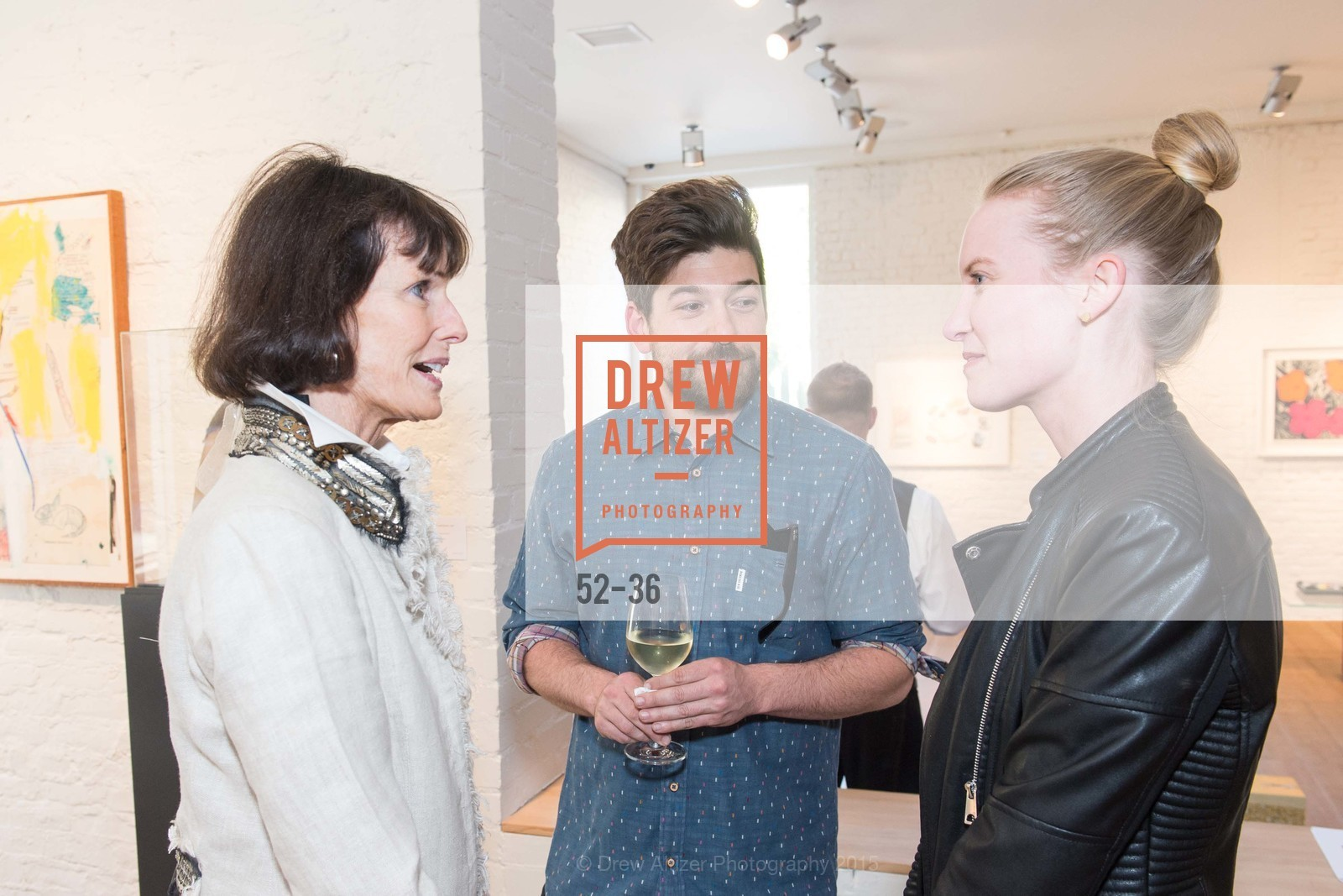 Sharon Wick, Andrew Mcclintock, Leigh Cooper, Post War and Contemporary preview at Hedge Gallery , Hedge Gallery. 501 Pacific Ave, San Francisco, CA 94133, April 16th, 2015,Drew Altizer, Drew Altizer Photography, full-service agency, private events, San Francisco photographer, photographer california