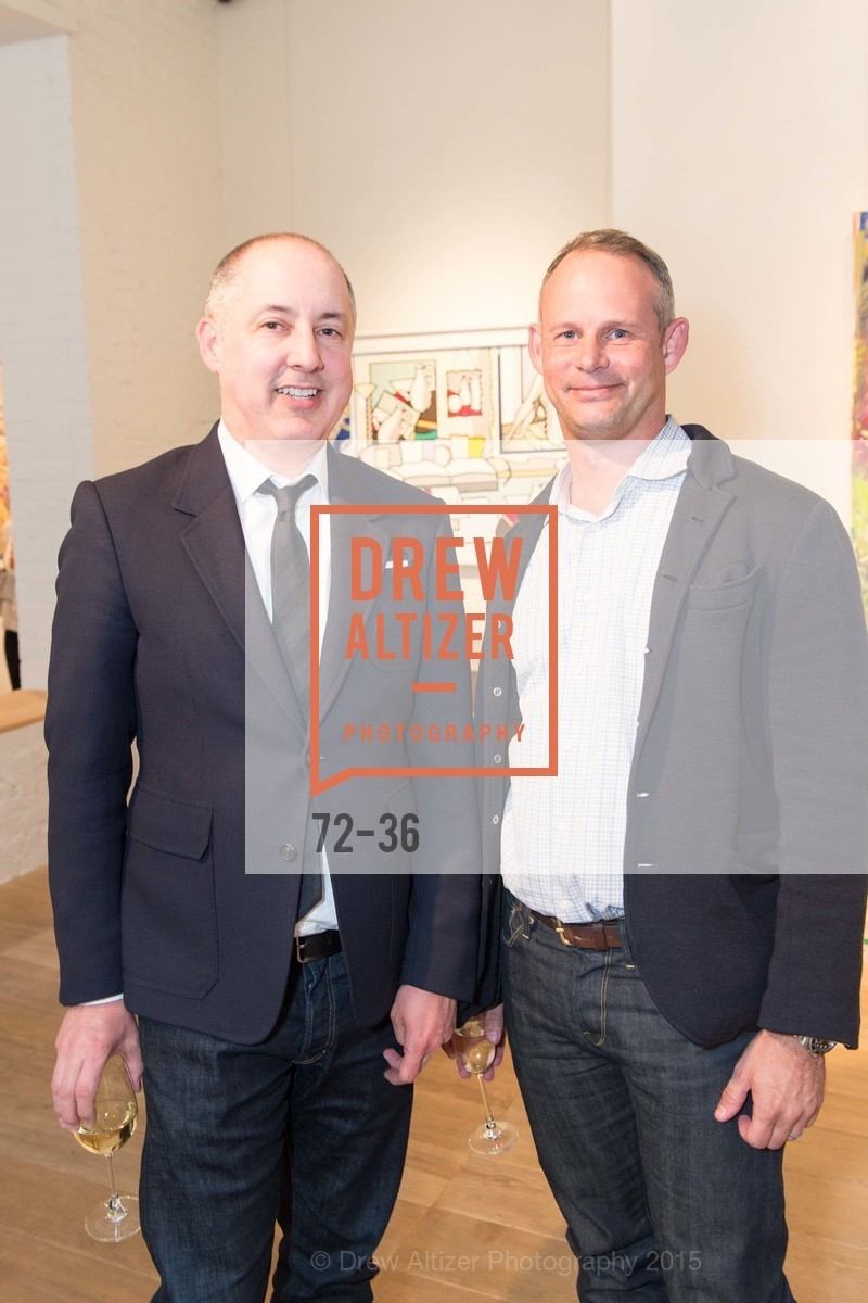 Greg Stewart, Ralph Dennis, Post War and Contemporary preview at Hedge Gallery , Hedge Gallery. 501 Pacific Ave, San Francisco, CA 94133, April 16th, 2015,Drew Altizer, Drew Altizer Photography, full-service event agency, private events, San Francisco photographer, photographer California