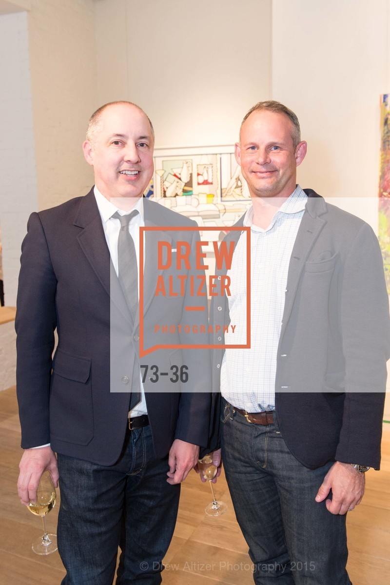 Greg Stewart, Ralph Dennis, Post War and Contemporary preview at Hedge Gallery , Hedge Gallery. 501 Pacific Ave, San Francisco, CA 94133, April 16th, 2015,Drew Altizer, Drew Altizer Photography, full-service agency, private events, San Francisco photographer, photographer california