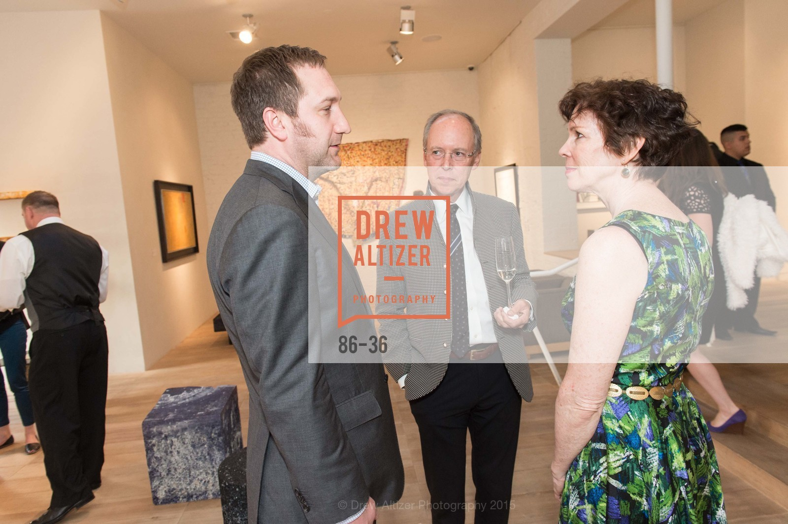 Jonathan Laib, Charles Desmarais, Kitty Morgan, Post War and Contemporary preview at Hedge Gallery , Hedge Gallery. 501 Pacific Ave, San Francisco, CA 94133, April 16th, 2015,Drew Altizer, Drew Altizer Photography, full-service agency, private events, San Francisco photographer, photographer california