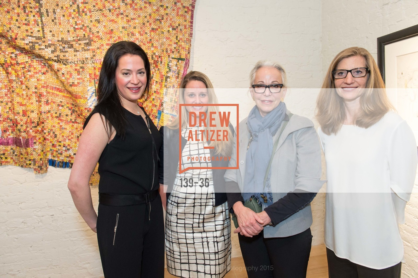Becky Ascher, Lindsey Snyder, Nancy Ascher, Laura Nagle, Post War and Contemporary preview at Hedge Gallery , Hedge Gallery. 501 Pacific Ave, San Francisco, CA 94133, April 16th, 2015,Drew Altizer, Drew Altizer Photography, full-service agency, private events, San Francisco photographer, photographer california